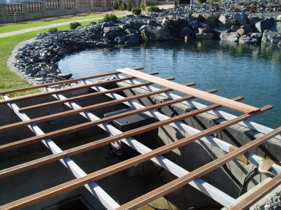 Založení terasy na jäklovou konstrukci